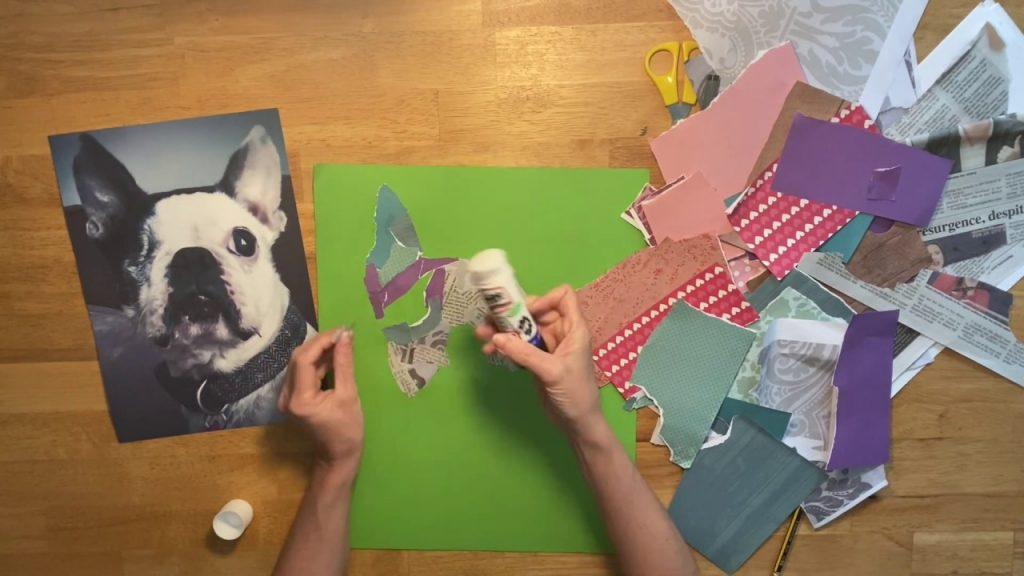 Keep a good memory through unique dog portraits