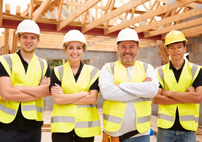 Professionalism with local tradesmen